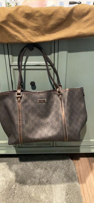 Large authentic GUCCI Tote for Sale in Lakeside, CA