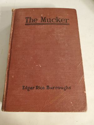 Vintage book The Mucker by Edgar Rice Burroughs 1921s Rare Collectable for Sale in Las Vegas, NV