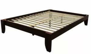 Queen bed frame w/slats for Sale in Westgate, NY
