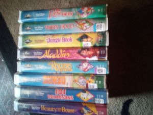 8 BLACK DIAMOND DISNEY TAPES $10 each or all for $65 firm MUST PICK UP 73RD AVE AND INDIAN SCHOOL for Sale in Phoenix, AZ