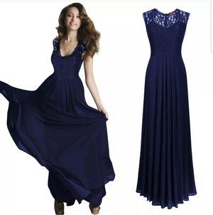 Miusol Navy Maxi Lace Formal Dress S for Sale in McDonough, GA