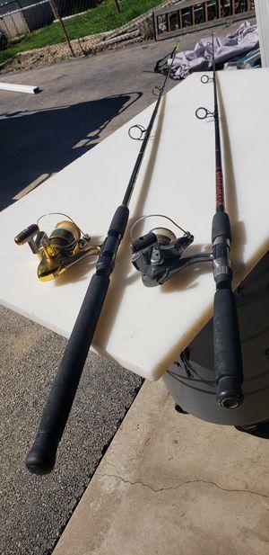 Cat fish fishing rods for Sale in Joliet, IL