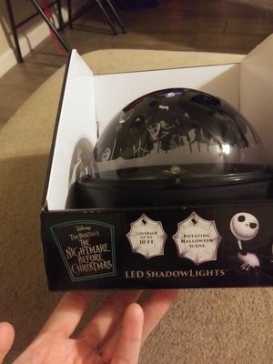 Nightmare before christmas led shadow light for Sale in Phoenix, AZ