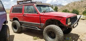 Light bar, roof rack, led head lights, rock slides and high lift for Sale in Mesa, AZ