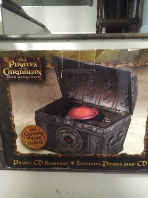 Pirates of the Caribbean CD Player for Sale in Tigard, OR