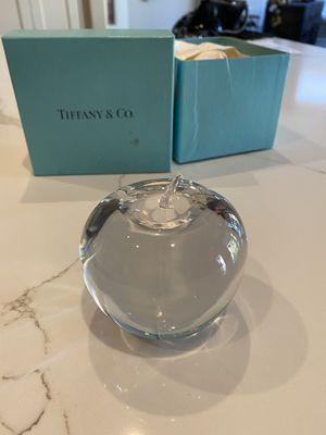 Tiffany & Co Apple Paperweight for Sale in Phoenix, AZ