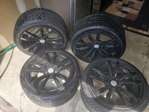 BMW X5, X6 Rims/Tires/Grill (Black) for Sale in Huntingdon Valley, PA