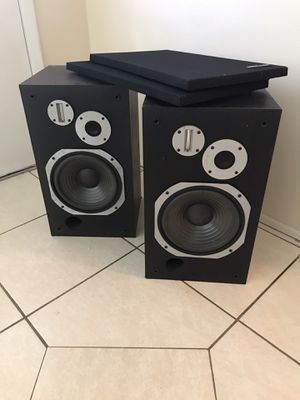 Pioneer HPM-500 vintage loudspeaker system. The speakers will rock the standard garage man cave or living room of your house lots of bass they are us for Sale in Spring Hill, FL