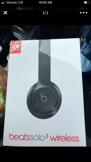 Beats solo 3 for Sale in Victorville, CA