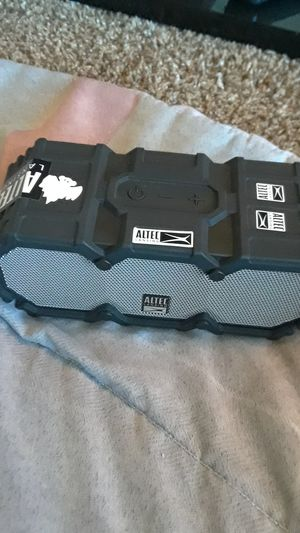 Altec Lansing Waterproof Bluetooth Speaker/ Portable Charger for Sale in Forest Heights, MD