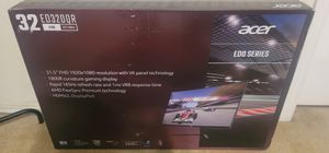 Acer 165hz 32 inch gaming monitor brand new for Sale in Houston, TX