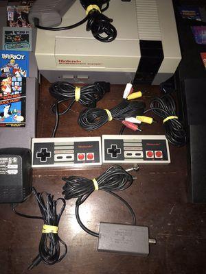 Original Nintendo NES Console 10 games Mario/Duck Hunt Tetris Tested Work for Sale in Auburndale, FL
