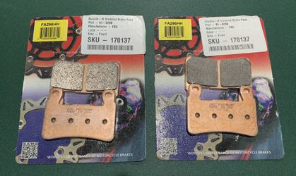 Motorcycle front brake pads for Sale in Manassas,  VA