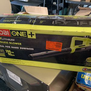 New Ryobi One 18v Lithium Cordless Blower for Sale in Houston, TX