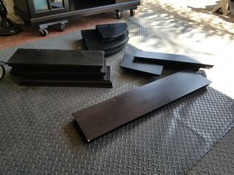 Black floating wall shelving for Sale in Garden Grove,  CA