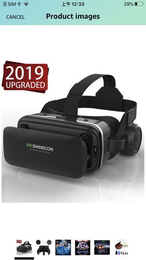 VR SHINECON 3D Glasses for Movies, Video,Games for Sale in Jersey City, NJ
