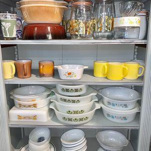 Vintage Mugs, Casseroles, Bowls Fire King Hazel Atlas Pyrex for Sale in Derwood, MD