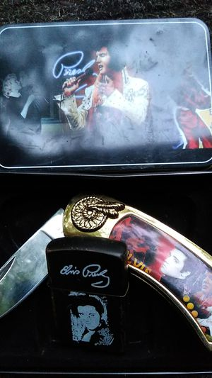 Elvis knife and Zippo set for Sale in North Attleborough, MA