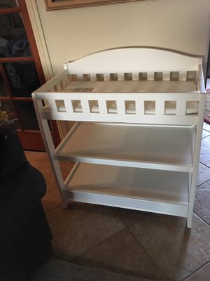 Brand new changing table with pad for Sale in Bakersfield, CA