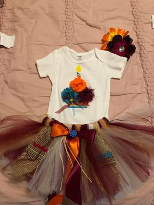 Tutu set- Moana for 12 month old baby girl for Sale in Phoenix, AZ