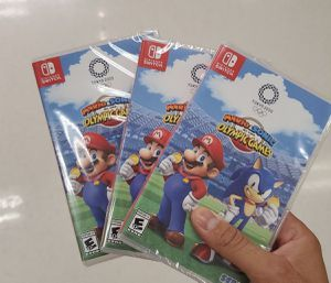 Mario and sonic olympic games tokyo 2020 for Sale in City of Industry, CA