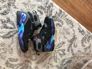 Aqua 8 Jordan's size 6 for Sale in Annandale, VA