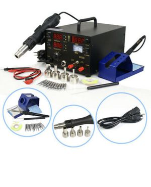 Soldering Hot Air Gun 3-1 Machine Solder Iron for Sale in Las Vegas, NV
