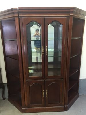 3 piece display cabinet for Sale in Chaplin, CT