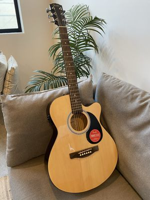Fender Acoustic Guitar with built in tuner for Sale in San Diego, CA