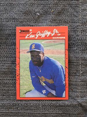 Ken Griffey Jr DONRUSS 1989 ROOKIE CARD for Sale in Davenport, FL
