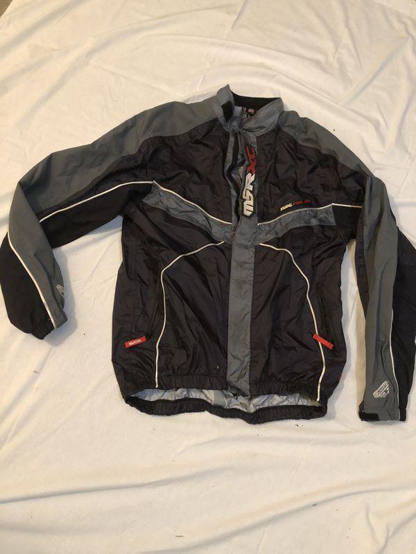 MSR XC Men's Med Nylon Motorcycle Jacket