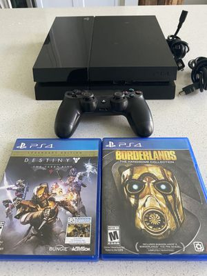 Sony PlayStation 4 PS4 with 1 Controller and 2 Games for Sale in Oceanside, CA