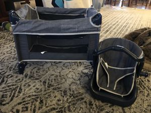 Graco Doll Pack n Play + Car Seat for Sale in Queens, NY