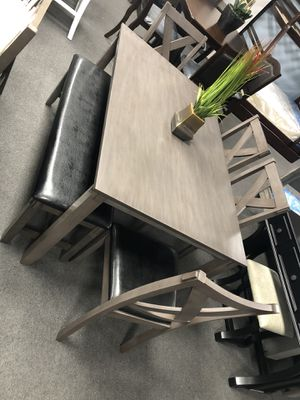 6PC Gray Dining Table Set on SALE 🔥 for Sale in Fresno, CA