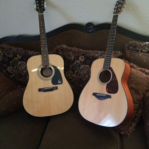 Two guitars Epiphone and Yamaha for Sale in San Jose, CA