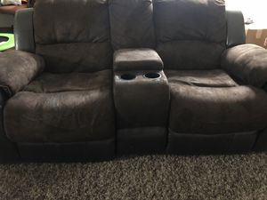 Reclining couch set for Sale in Berenda, CA