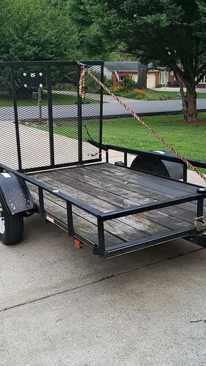 5x8 trailer with drip gate. Very good condition and good tires. for Sale in Murfreesboro, TN