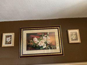 Set de cuadros de magnolias for Sale in Phoenix, AZ