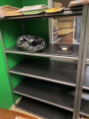 SHELVING, 5 Shelve Storage Rack, good condition for Sale in Moreno Valley, CA