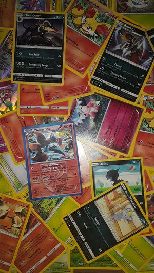 15 random pokemon cards, GUARANTEED at least one rare NO ENERGIES NO DUPLICATE POKEMON! for Sale in Bowman, GA