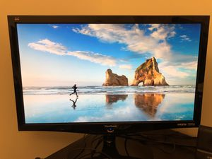"Viewsonic VS12843 27"" 1080p computer monitor. 60hz DVI/HDMI input for Sale in Darnestown, MD"