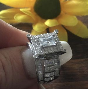 Size 6, 7, 8 solid silver cocktail ring. Message size on orders. for Sale in Denver, CO