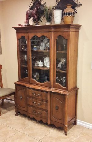 Basset China Cabinet Vintage for Sale in Anaheim, CA