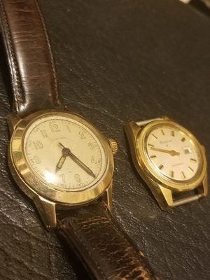 VINTAGE 14K GOLD LONGINES AND BULOVA WATCHES for Sale in Springfield, VA