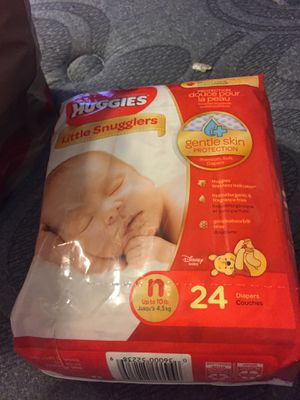 Newborn Diapers (New) for Sale in Lowell, MA