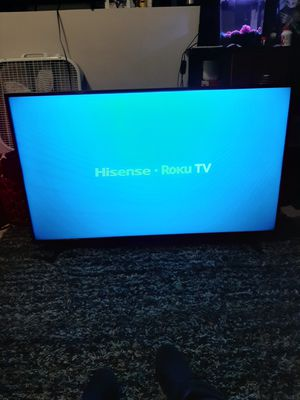 "Hisense 50"" Class Roku TV, 4K UHD, (2160p) 3840 x 2160 - HDR for Sale in Salt Lake City, UT"