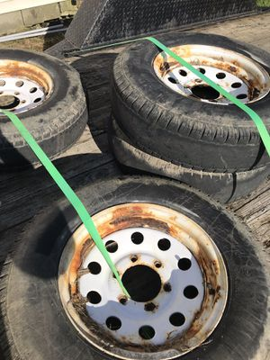 Trailer rims and tire (3) for Sale in Enon Valley, PA