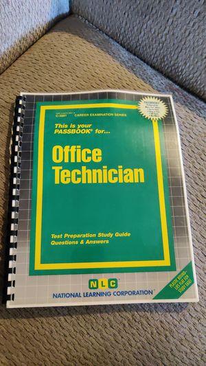 Office Technician book for Sale in Sacramento, CA