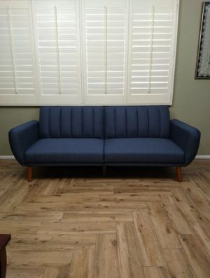 Mid century modern futon couch sofa bed mattress - Brand New - Delivery available for Sale in Phoenix, AZ