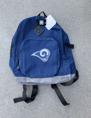 Los Angeles Rams Backpack Regular Size Authentic NFL for Sale in Montebello, CA